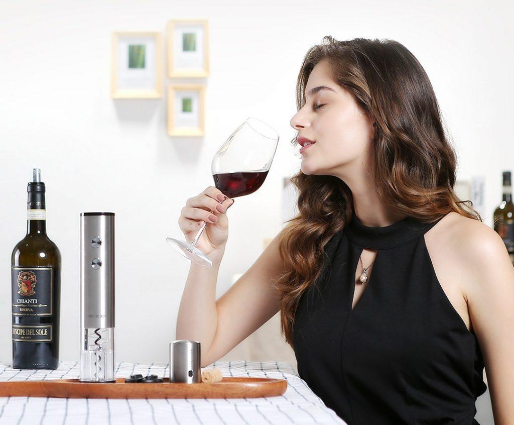 Phân biệt qua hương vị của rượu