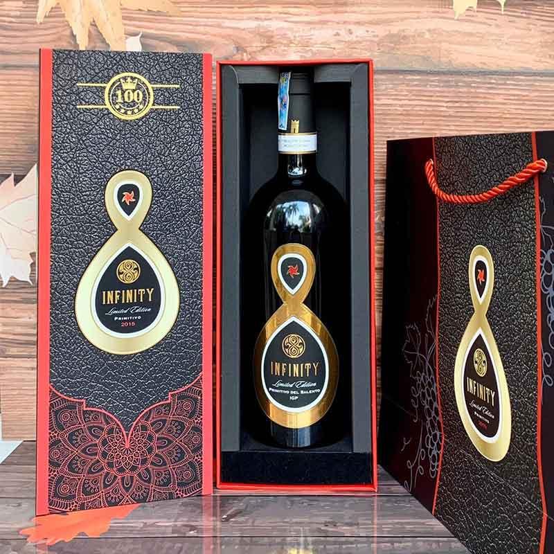 Rượu Vang INFINITY Primitivo Del Salento Limited Edition