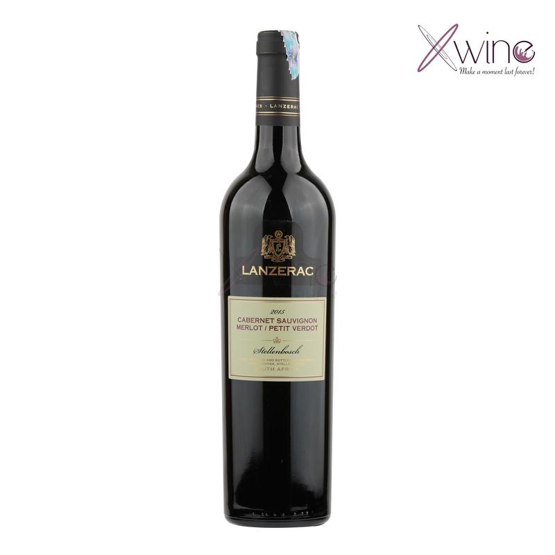Rượu Vang Nam phi Lanzerac Stellenbosch Blend