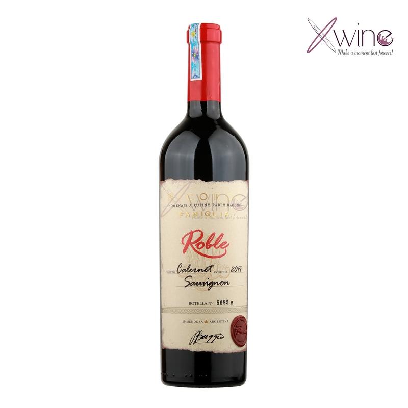 Rượu Vang Argentina Roble Ricordi Famigla