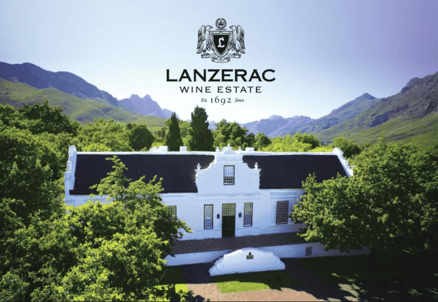 Nhà sản xuất rượu vang Nam Phi vùng Lanzerac