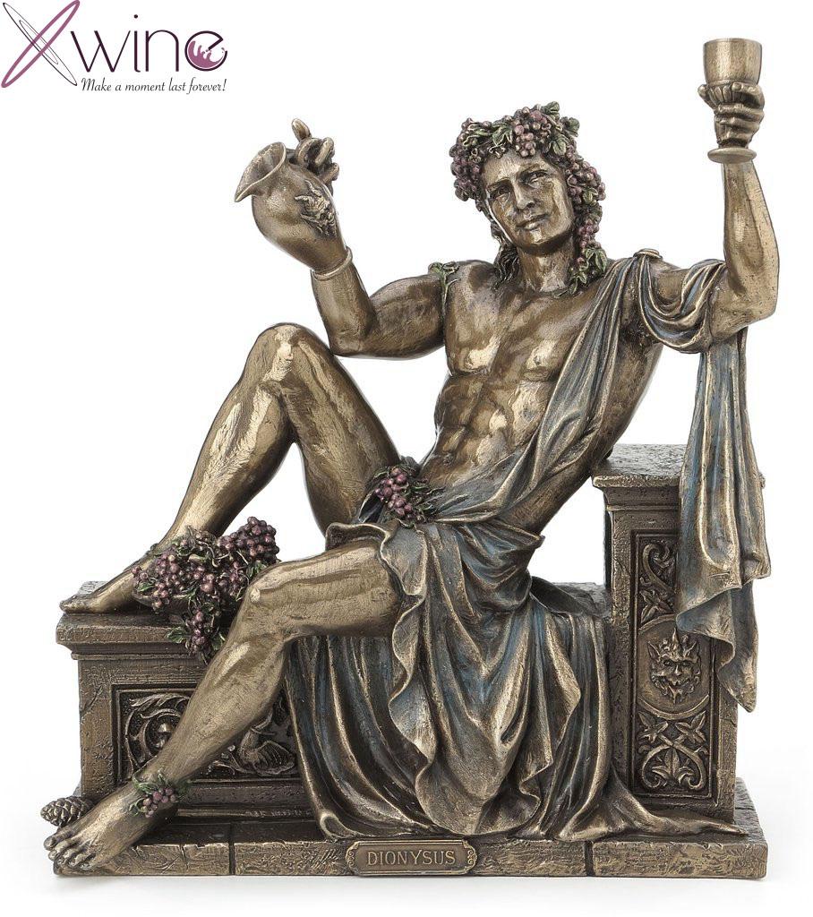 Thần Dionysus, vị Thần bảo hộ của rượu vang