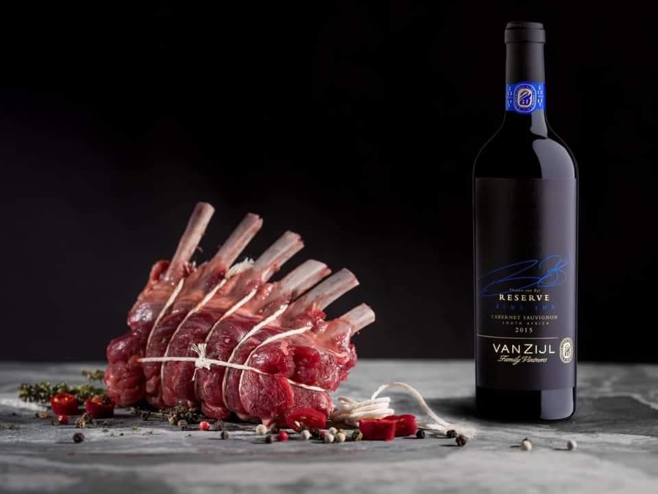 Rượu Vang Nam Phi VANZIJL Reserve