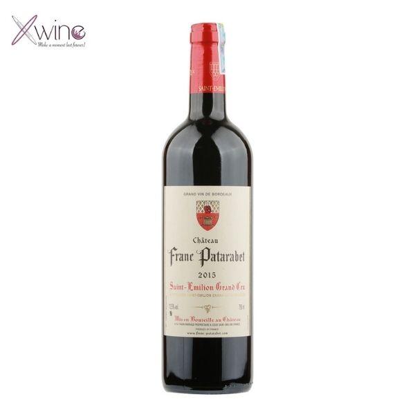 Rượu Vang Chateau Franc Patarabet