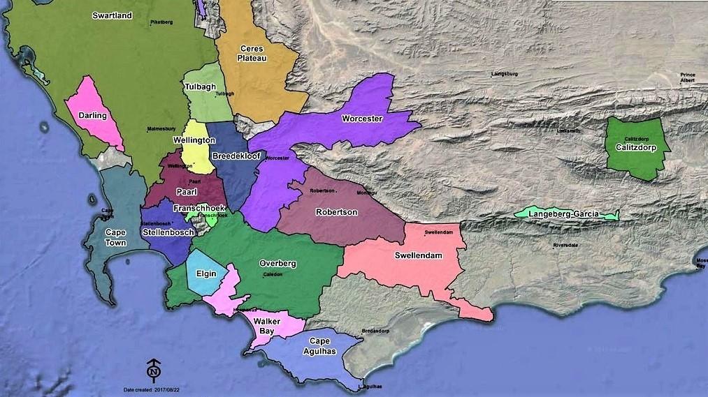 SA Wine Regions