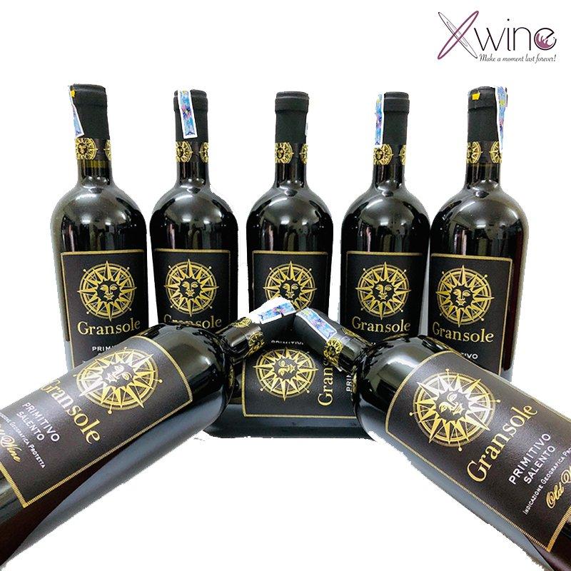 Rượu Vang Ý Gransole Primitivo Salento