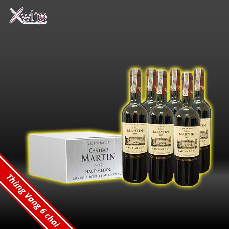 Combor Rượu Vang Pháp Martin Haut-Medoc